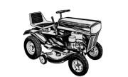 MTD 460 lawn tractor photo