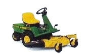 John Deere F510 lawn tractor photo