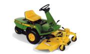 John Deere F525 lawn tractor photo