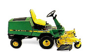 John Deere F710 lawn tractor photo