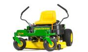 John Deere Z235 lawn tractor photo