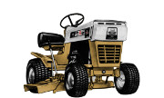 Craftsman 536.8133 lawn tractor photo