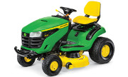 John Deere S220 lawn tractor photo