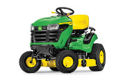John Deere S120 lawn tractor photo