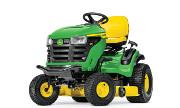 John Deere S160 lawn tractor photo