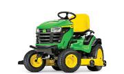 John Deere S180 lawn tractor photo