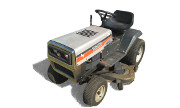 White GT-1810 lawn tractor photo