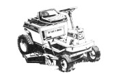 Craftsman 502.65410 RM10 lawn tractor photo