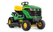John Deere X107 lawn tractor photo
