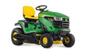 John Deere X127 lawn tractor photo