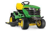 John Deere X167 lawn tractor photo