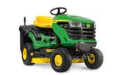 John Deere X117R lawn tractor photo