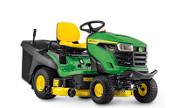 John Deere X167R lawn tractor photo