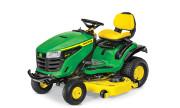 John Deere S240 lawn tractor photo