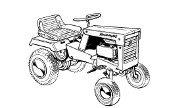 Simplicity Serf 515 lawn tractor photo
