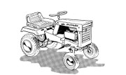Simplicity Serf 525 lawn tractor photo