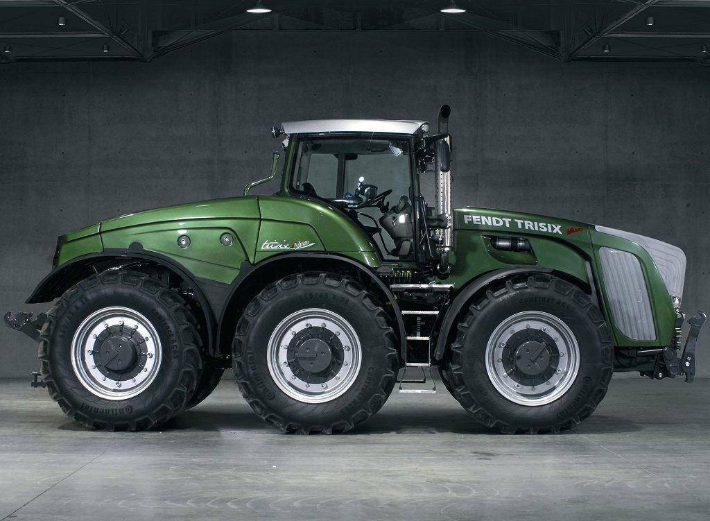 Tractordata Com Agco Introduces Fendt Trisix Tractor At Agritechnica