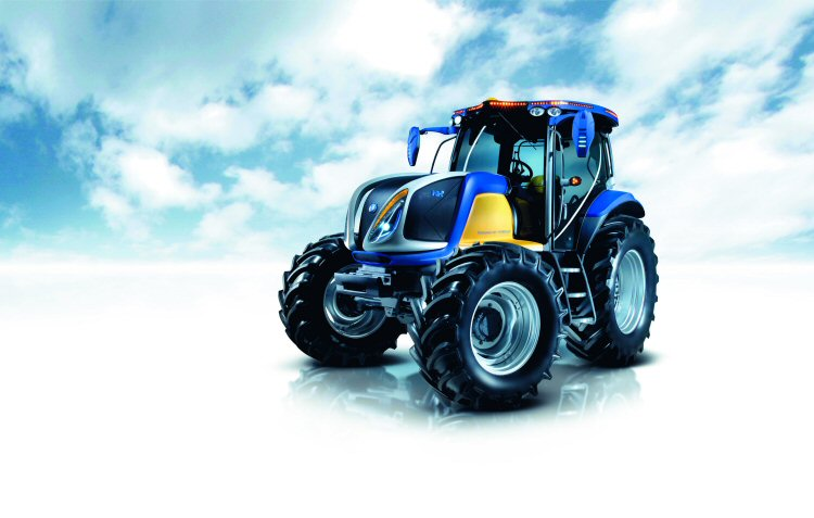TractorData com - New Holland NH2 Hydrogen-Powered Tractor