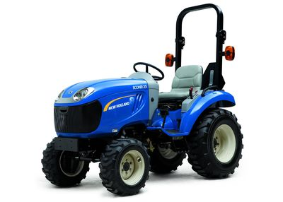 Captivating New Holland Boomer 25 Sub Compact Utility Tractor Nice Look