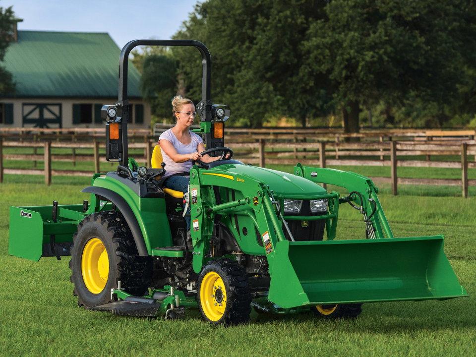 TractorData.com - Deere Introduces New 2R Compact Tractors