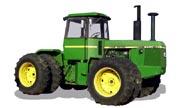 John Deere 8440 tractor photo