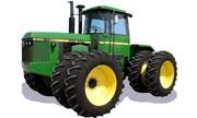 John Deere 8450 tractor photo