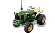 John Deere 650 tractor photo