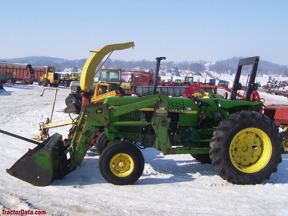 Tractordata Com John Deere 2550 Tractor Information