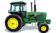 John Deere 4450 tractor photo