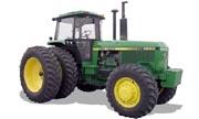 John Deere 4850 tractor photo