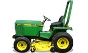 John Deere 655 tractor photo