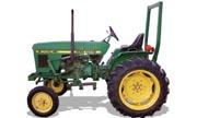 John Deere 900HC tractor photo