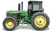 John Deere 4755 tractor photo