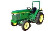 John Deere 870 tractor photo