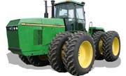 John Deere 8770 tractor photo