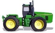 John Deere 8870 tractor photo