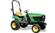 John Deere 2210 tractor photo