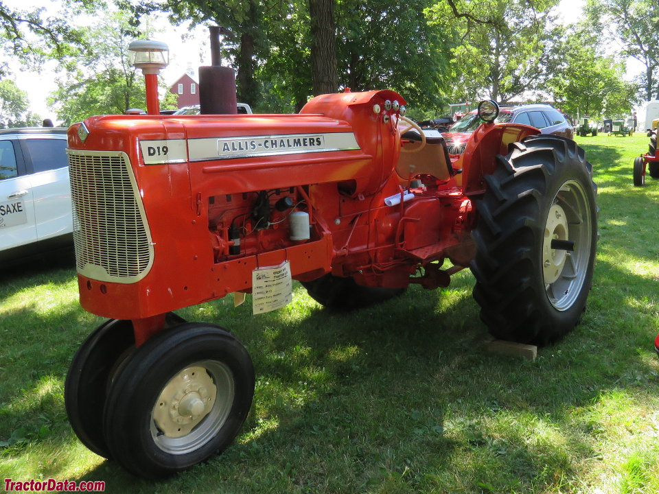 Allis chalmers 190 Specifications bar Grill Pedal Tractor