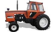 Allis Chalmers 7000 tractor photo