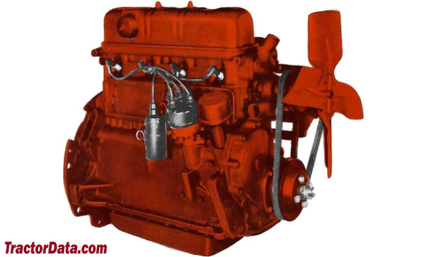 Tractordata Com Ford Golden Jubilee Naa Tractor Engine Information