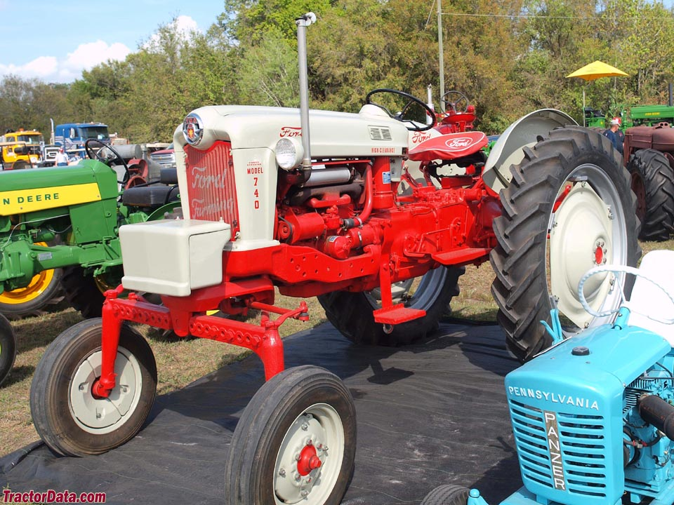 Ford 740 High Clearance tractor.