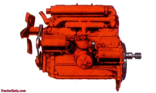 Ford Powermaster 841  engine photo