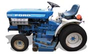 Ford 1210 tractor photo