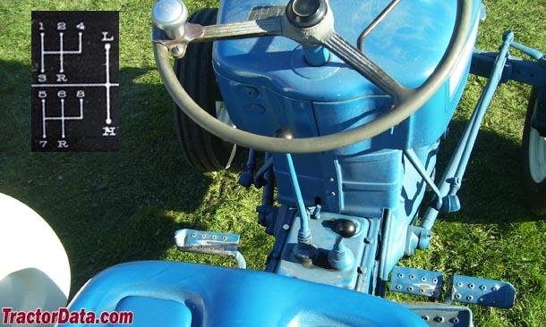 Ford 3000  transmission photo