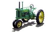 John Deere B tractor photo