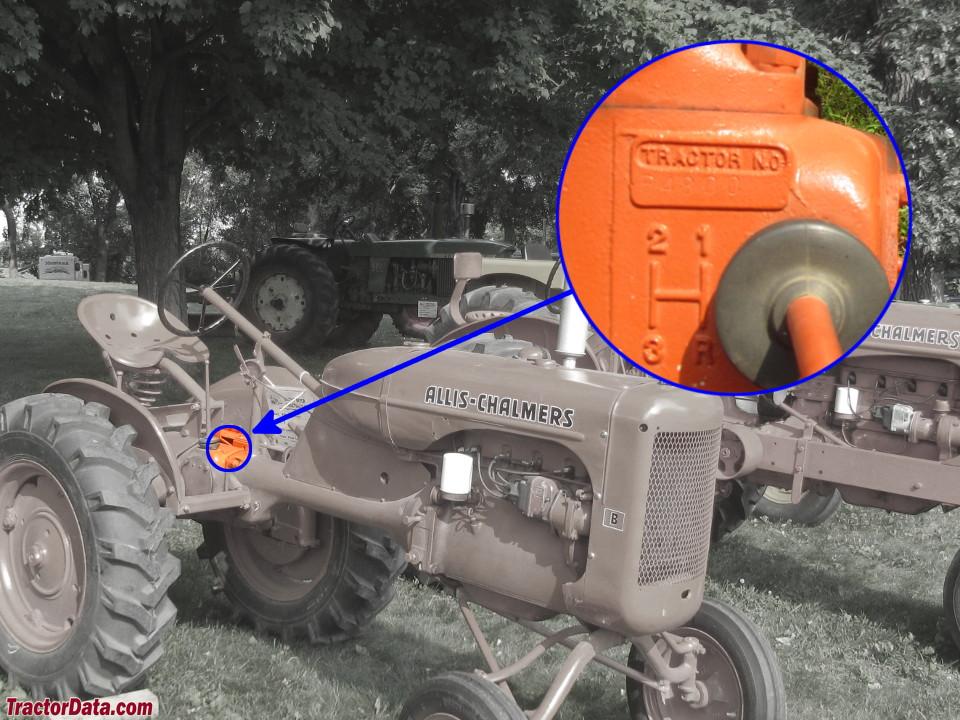 tractordata allis chalmers b tractor information