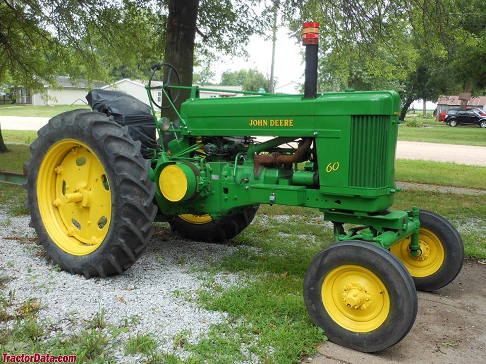 John Deere 60 with wide front end.