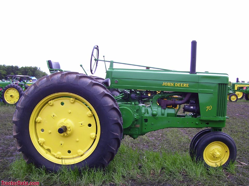 John Deere 70 with Roll-o-Matic front end