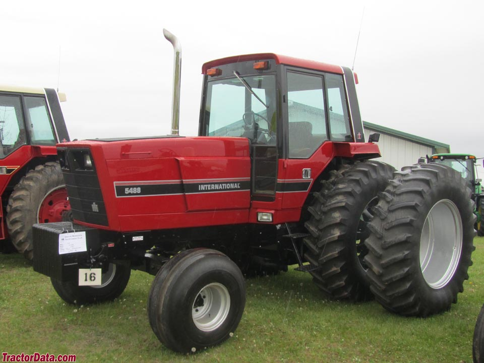 International tractor Serial Number