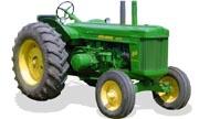 John Deere 80 tractor photo